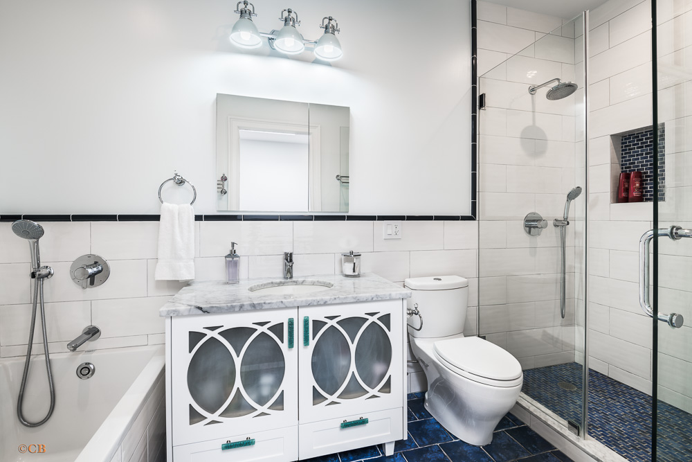 619 Eighth Ave-Master Bathroom-NYC